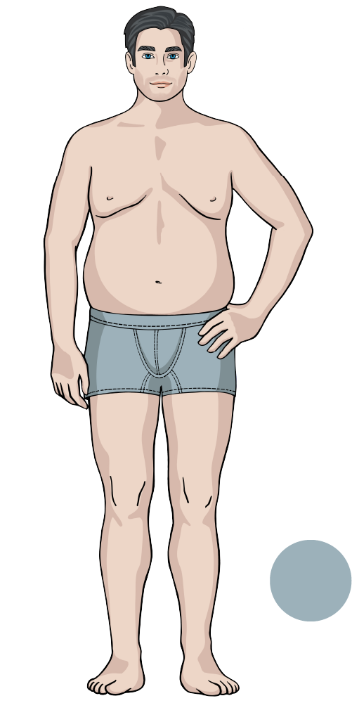Jeansfinder Body Icon O-Type