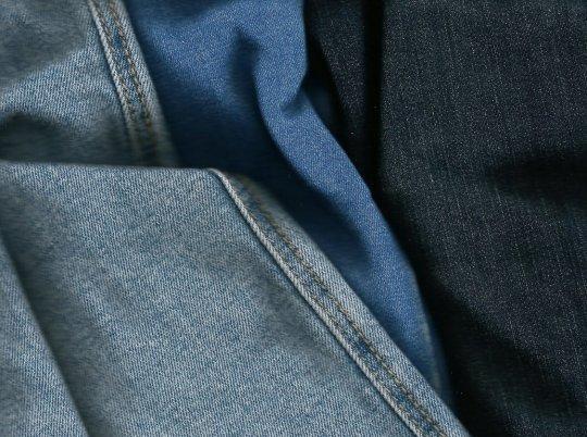 Der Stoff aus dem Jeans sind