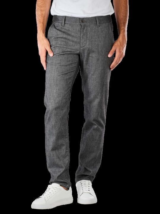 Alberto Lou Mini Structure Wool Pant Slim Fit
