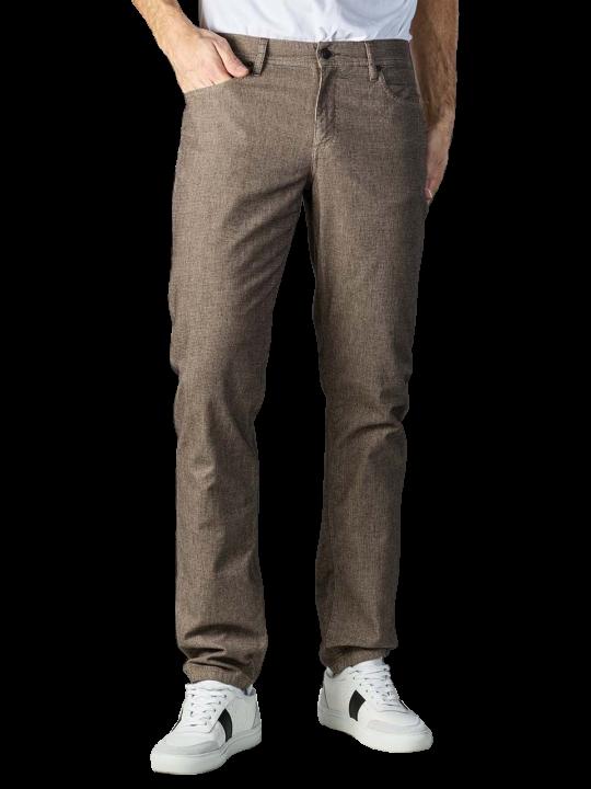 Alberto Pipe Micro Check Jeans Slim Fit