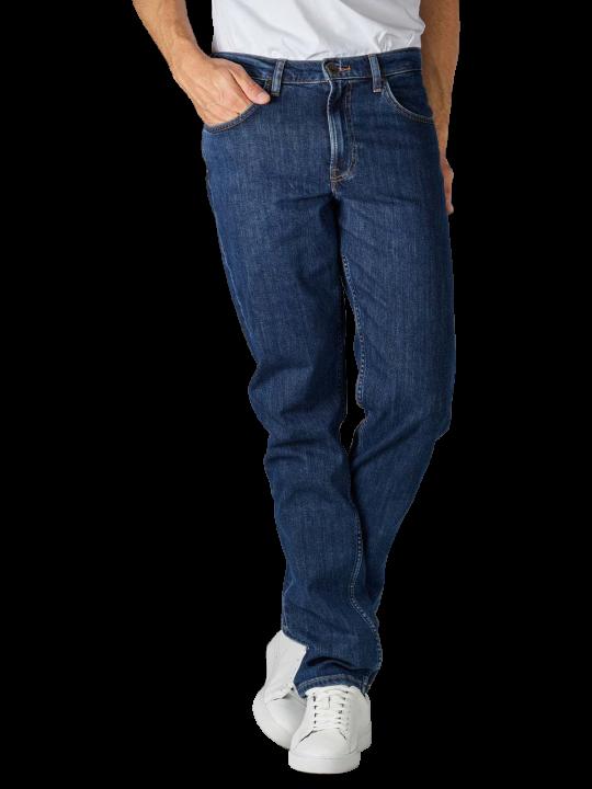 Lee Brooklyn Jeans Straight Fit dark stonewash  Herren Jeans