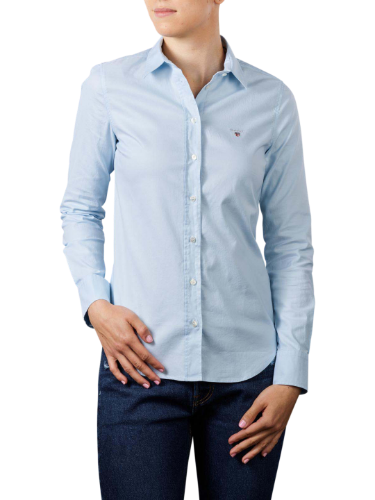 Gant Stretch Oxfort Solid Blouse