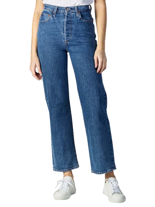 Levi's Ribcage Ankle Jeans Straight Fit
