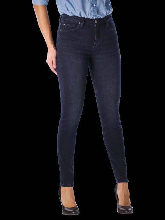 Lee Scarlett High Jeans Skinny worn ebony  Damen Jeans
