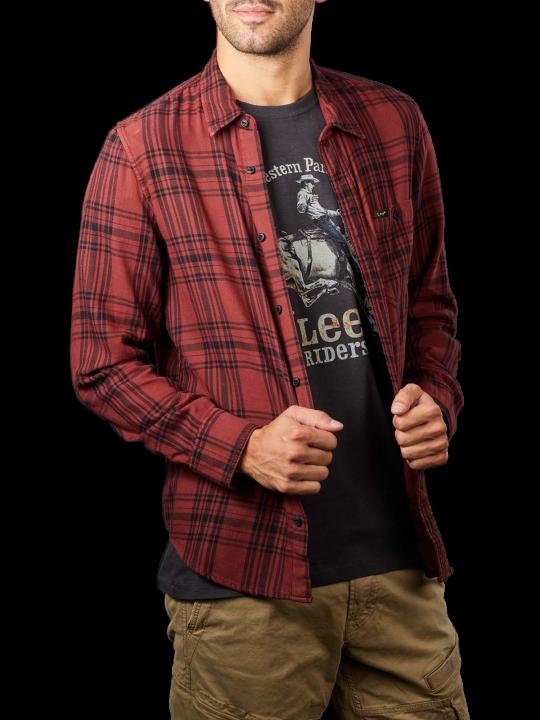 Lee Leesure Shirt  Herren Hemd
