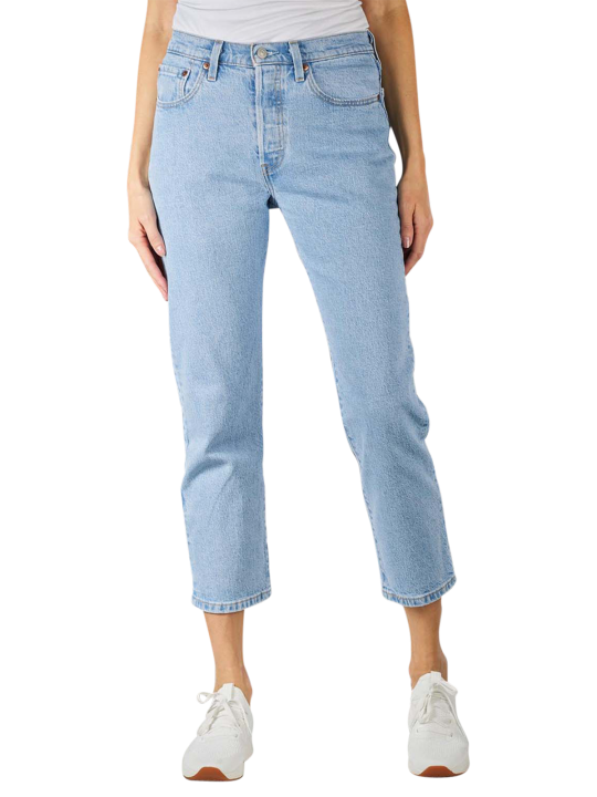 Levi's 501 Jeans Straight Cropped Fit