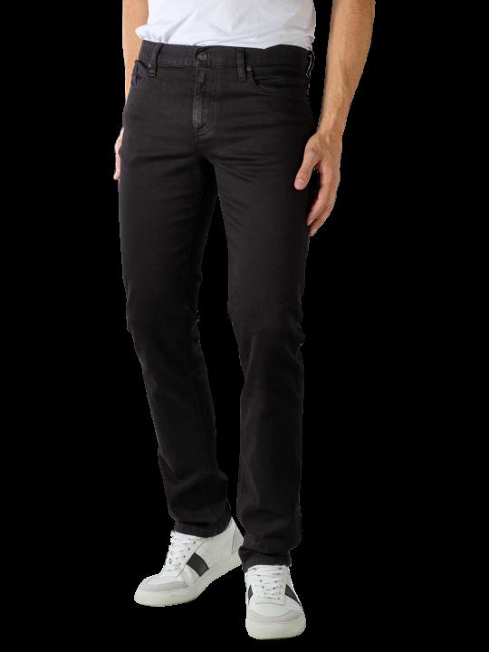 Alberto Pipe Jeans Superfit Denim black  Herren Jeans