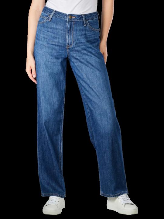 Lee Wide Leg Jeans Straight Fit  Damen Jeans