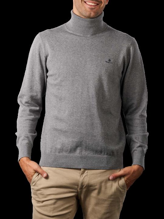 Gant Classic Cotton Turtle Neck Pullover