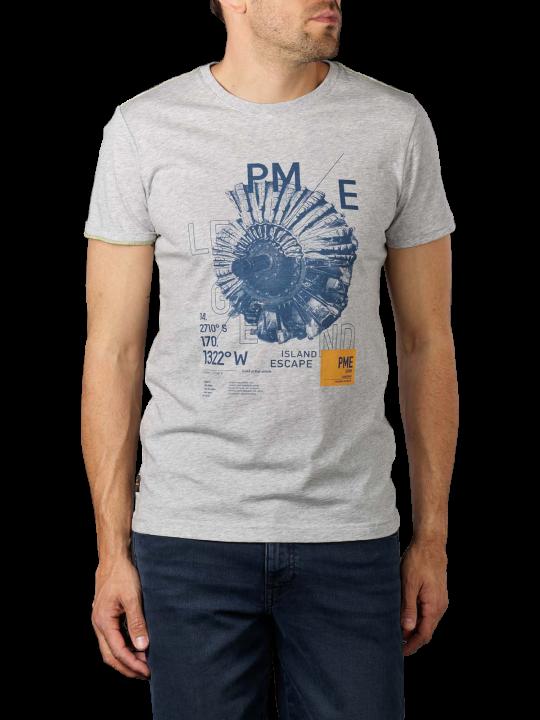 PME Legend Short Sleev R-Neck Sing T-Shirt