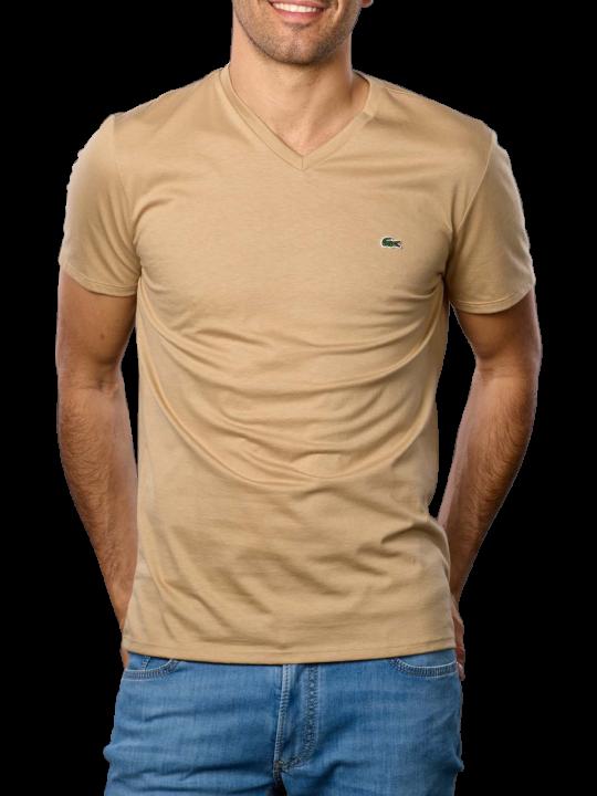 Lacoste Short Sleeves V Neck T-Shirt