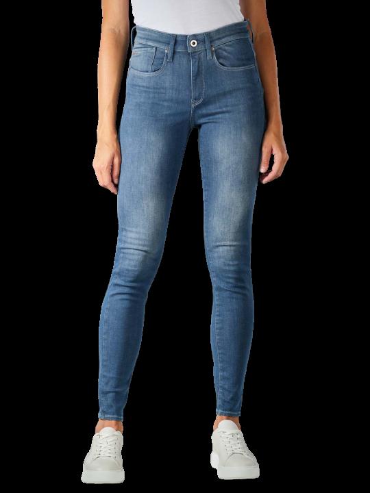 G-Star Lhana Jeans Skinny Fit worn in gravel blue  Damen Jeans