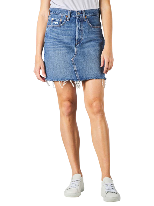 Levi's High Rise Deconstructed Buttin Fly