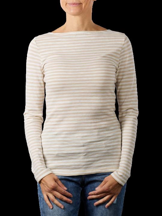 Marc O'Polo Long Sleeve Boat Neck T-Shirt