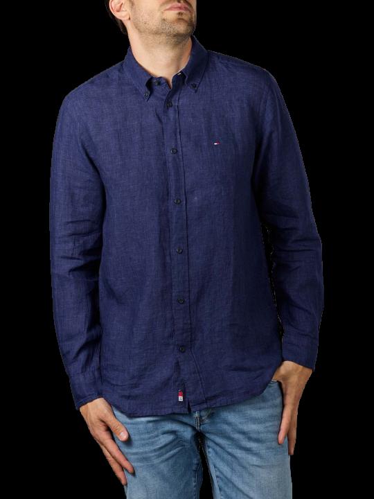 Tommy Hilfiger Linen Button Down Shirt