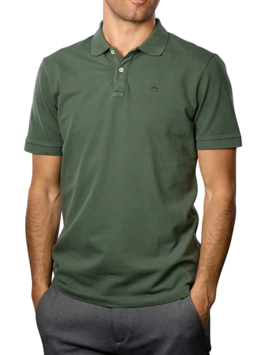 Scotch & Soda Garment Dyed Polo Shirt