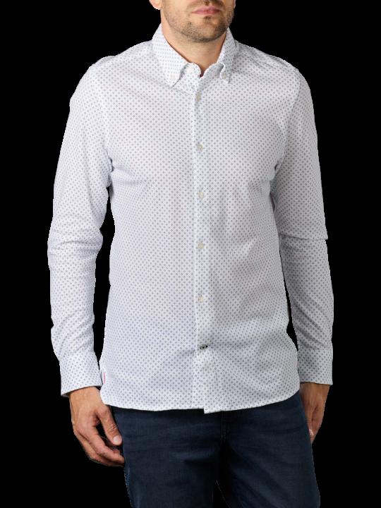 Tommy Hilfiger Slim Geo Floral Knit Shirt
