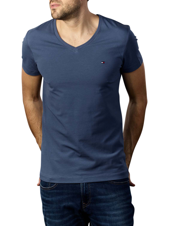 Tommy Hilfiger Stretch V Neck T-Shirt Slim Fit