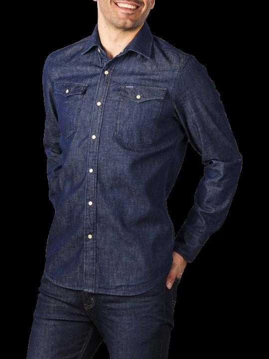 G-Star 3301 7 oz Denim Shirt Slim Fit