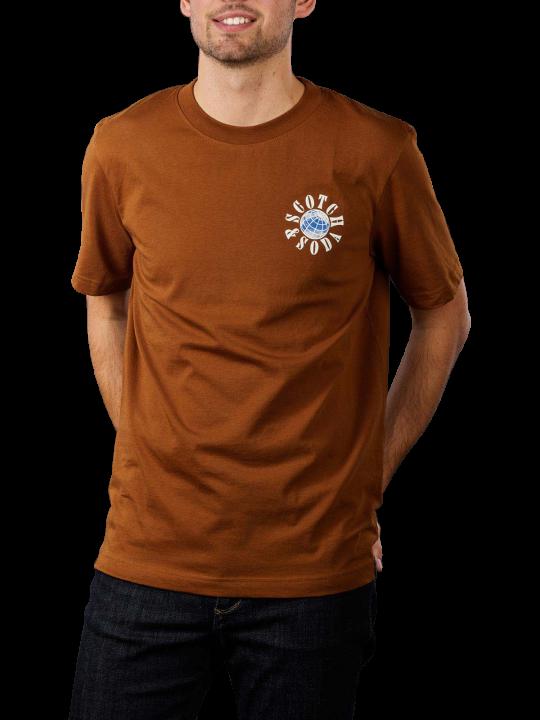 Scotch & Soda Graphic Logo T-Shirt