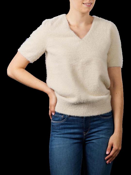 Yaya Fluffy V-Neck Shirt
