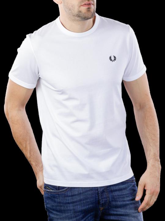 Fred Perry Ringer T-Shirt Regular Fit  Herren T-Shirt