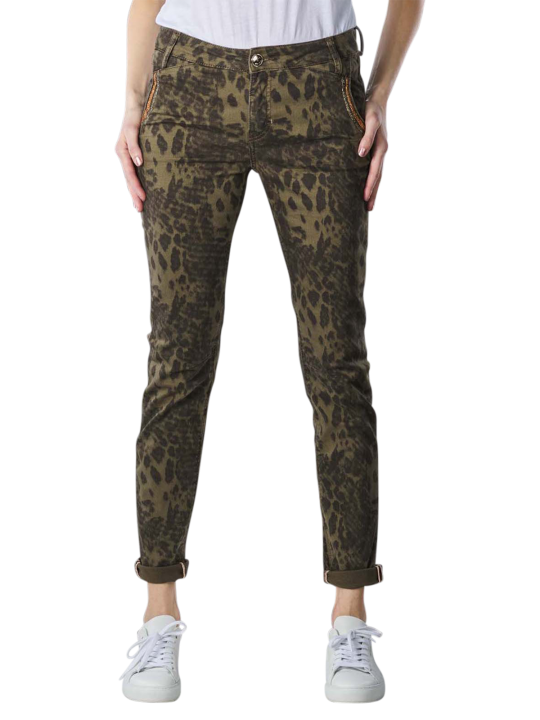 Mos Mosh Etta Animal Jeans Tapered Fit