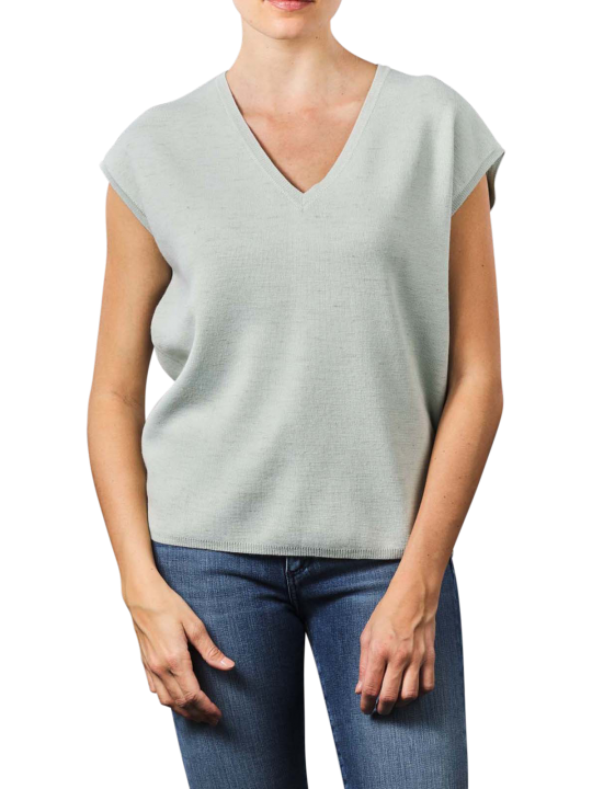 Yaya V-Neck With Buttons Sweater