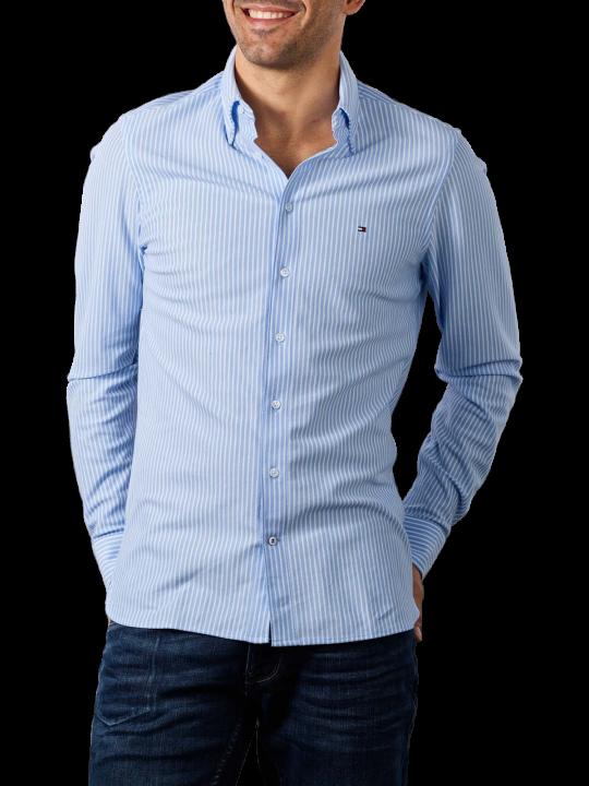 Tommy Hilfiger Stripe Knitted Shirt Slim Fit