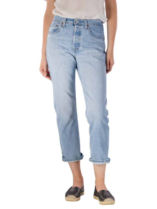 Levi's 501 Cropped Jeans Straight Fit