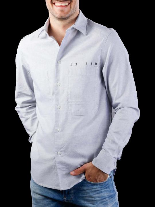 G-Star Dowl Straight Shirt Break Mazarine