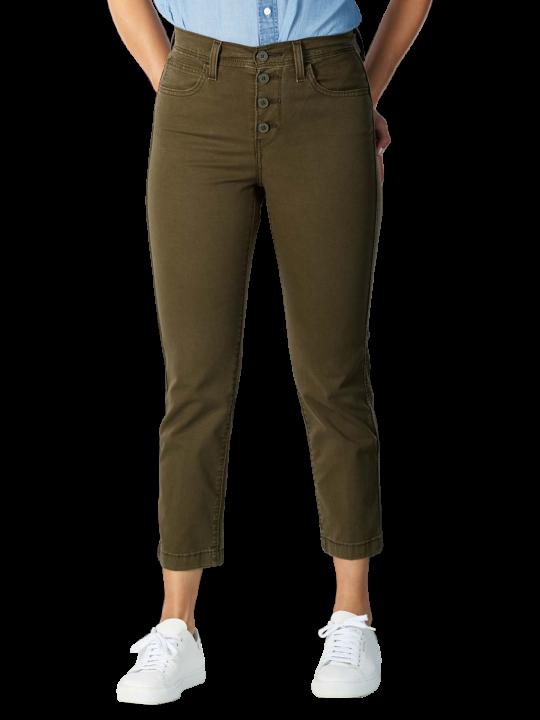 Levi's 724 High Rise Crop Jeans Straight Fit  Damen Jeans