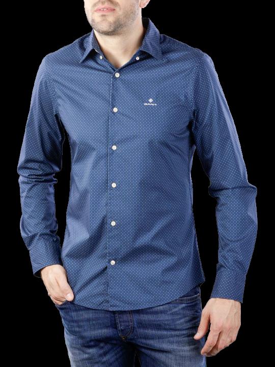 Gant Tp Bc Micro Print Slim Hbd Shirt