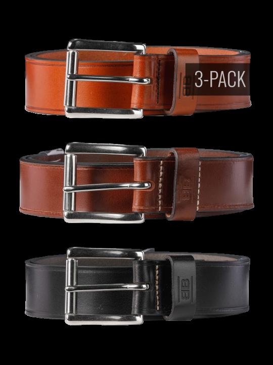 Pat 40mm Trio By Basic Belts