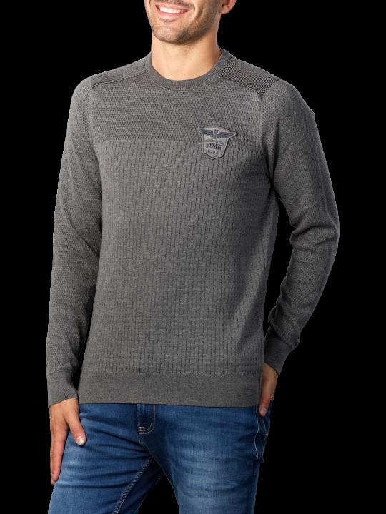 Pme Legend Crewneck Cotton Plated Sweater
