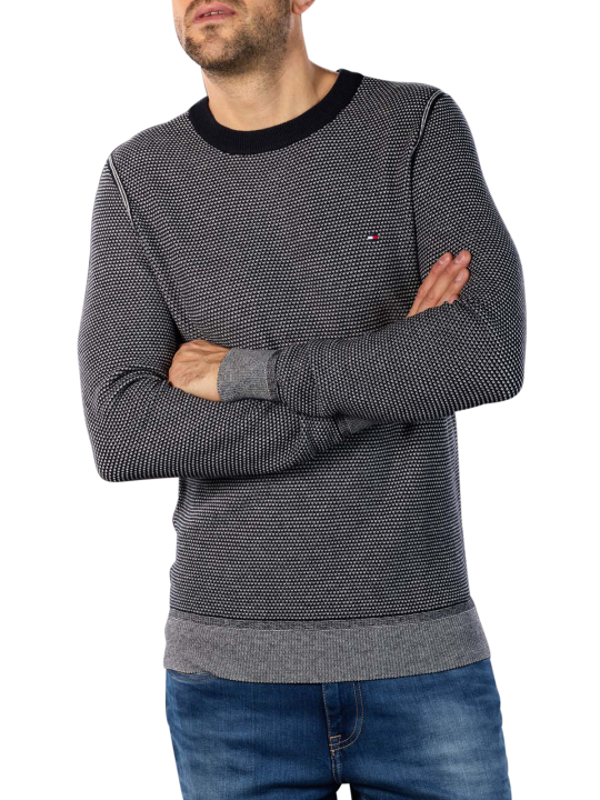 Tommy Hilfiger Two Tone Structure Sweater  Herren Pullover