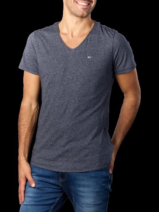 Tommy Hilfiger Slim V-Neck Jaspe T-Shirt