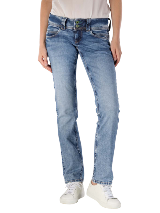 Pepe Jeans Venus Wiser Wash Jeans Straight Fit