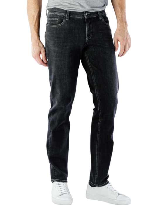 Alberto Pipe Bi Stretch Jeans Regular Slim Fit  Herren Jeans