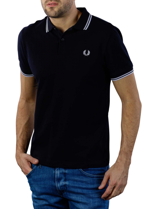 Fred Perry Twin Tipped Polo Shirt Regular Fit