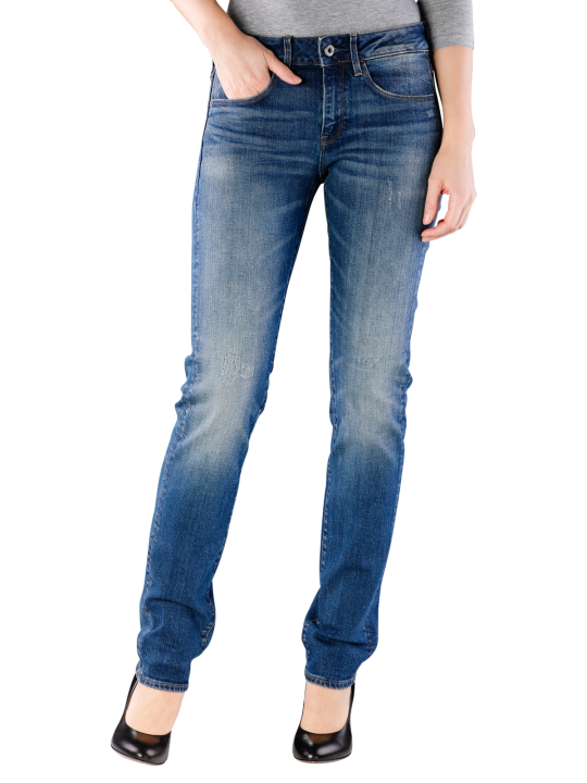 G-Star 3301 Mid Straight Jeans Straight Fit