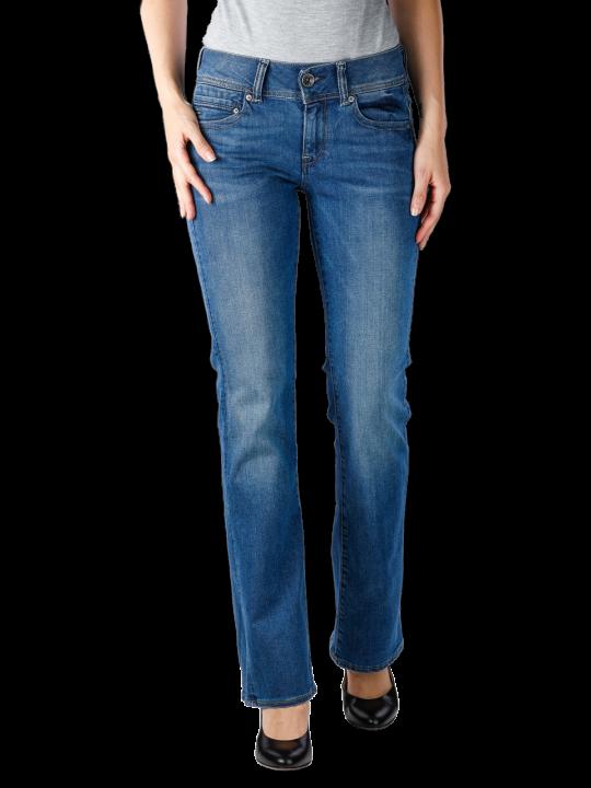 G-Star Midge Mid Bootcut Neutro Stretch Jeans