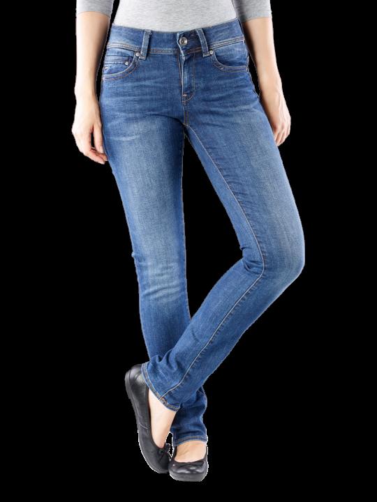 G-Star Midge Saddle Mid Straight Jeans Straight Fit  Damen Jeans