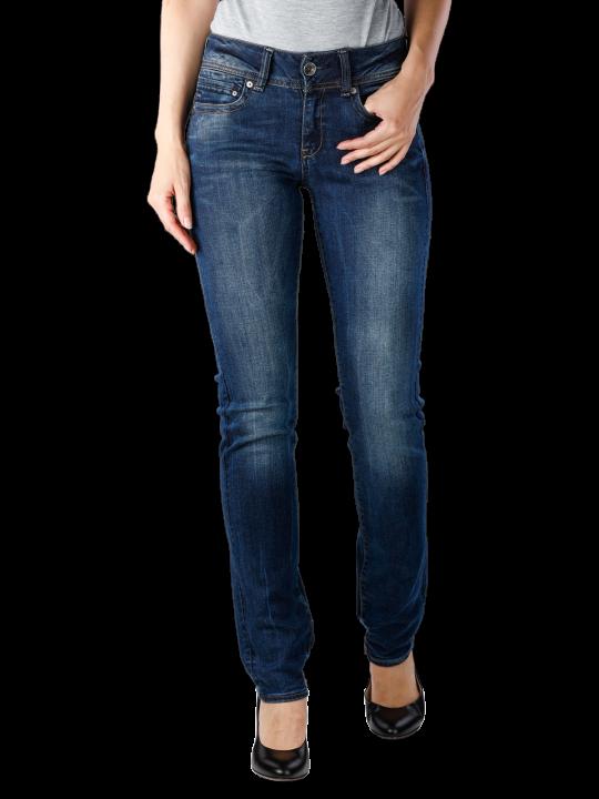 G-Star Midge Mid Straight Neutro Stretch Denim Jeans  Damen Jeans