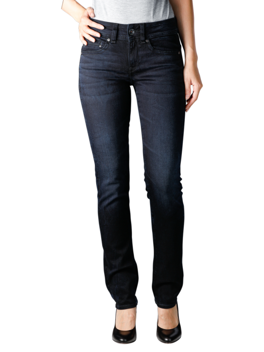 G-Star Midge Mid Straight Rink Superstretch Jeans  Damen Jeans