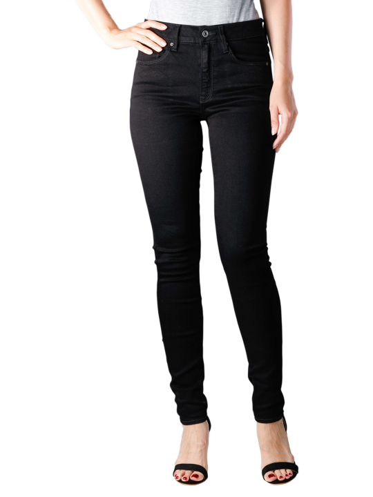 G-Star 3301 High Elto Nero F Superstretch Jeans Skinny Fit
