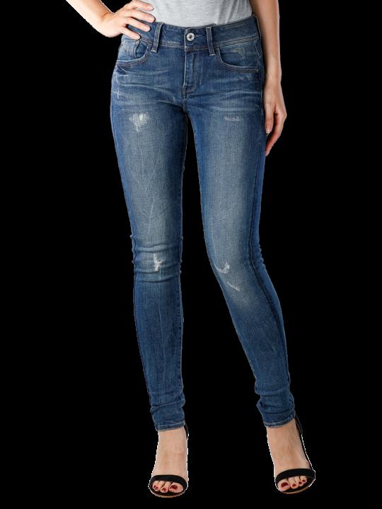 G-Star Lynn Mid Skinny Trender Stretch Jeans  Damen Jeans