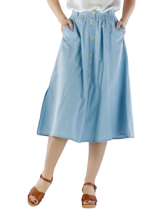 Lee Chambray Skirt Regular Fit