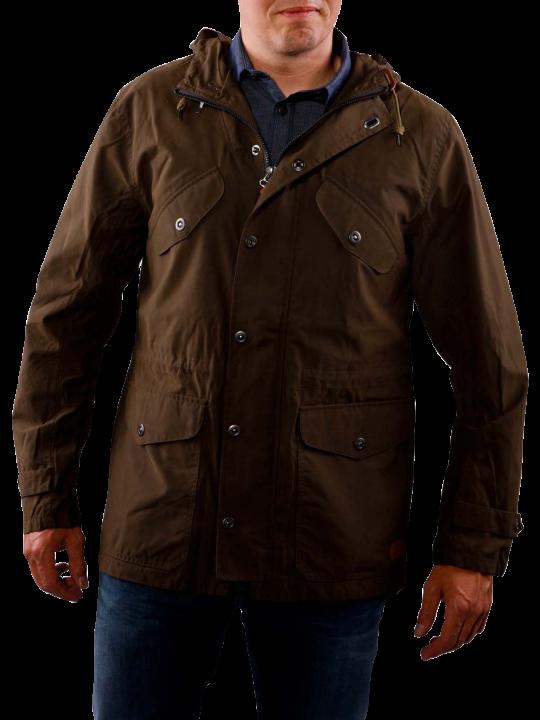 Lee Waxed Parka Jacket