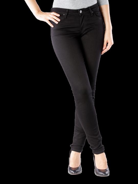 Lee Scarlett Stretch Jeans black rinse  Damen Jeans